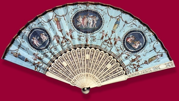 Cupid and Psyche Fan